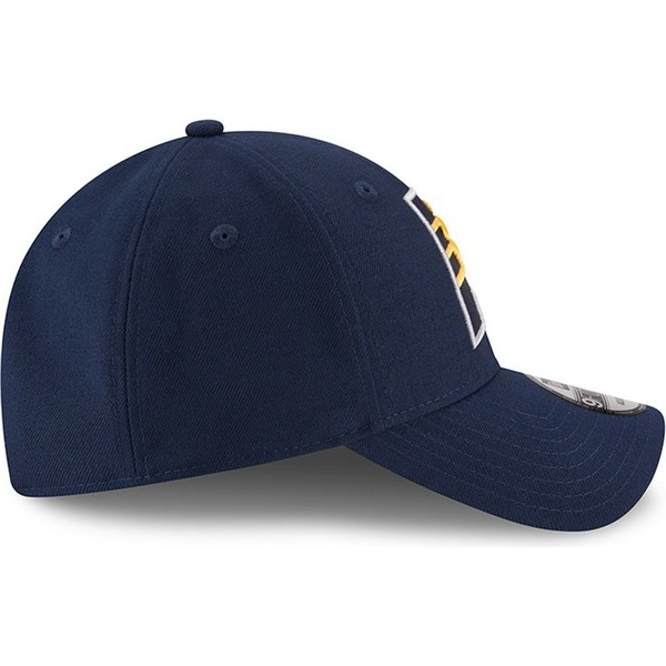 new-era-curved-brim-9forty-the-league-indiana-pacers-nba-blue-adjustable-cap