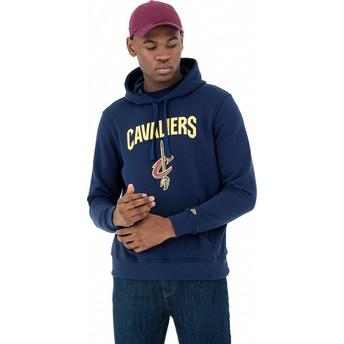 New Era Pullover Hoody Cleveland Cavaliers NBA Navy Blue Sweatshirt
