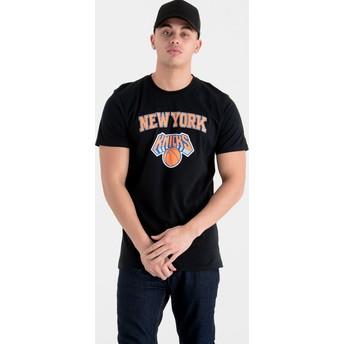 New Era New York Knicks NBA Black T-Shirt