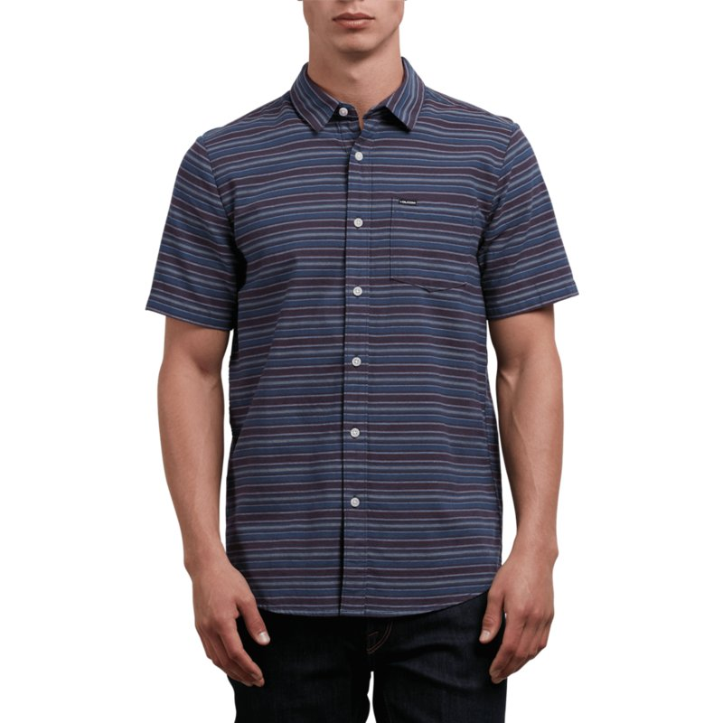 volcom-deep-blue-sable-navy-blue-short-sleeve-shirt