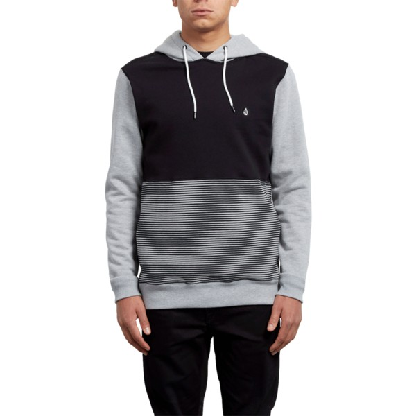 volcom-heather-grey-3zy-black-and-grey-hoodie-sweatshirt