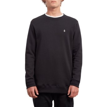 Volcom Black Single Stone Black Sweatshirt