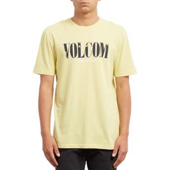 Volcom Acid Yellow Lifer Yellow T-Shirt