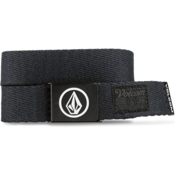 Volcom Navy Circle Web Navy Blue Belt