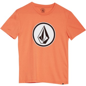 Volcom Youth Salmon Classic Stone Red T-Shirt