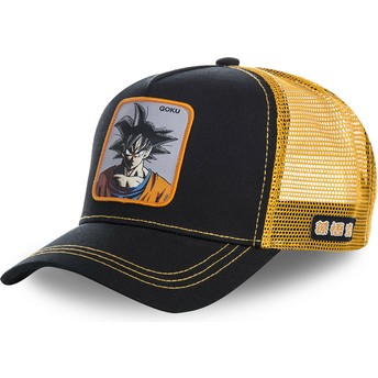 Capslab Son Goku GOKB Dragon Ball Black and Orange Trucker Hat