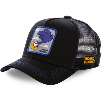 Capslab Road Runner ROA1 Looney Tunes Black Trucker Hat
