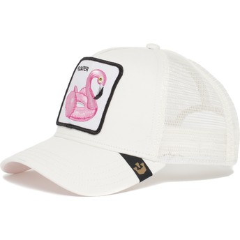 Goorin Bros. Flamingo Floater White Trucker Hat