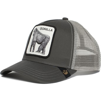Goorin Bros. Gorilla King of the Jungle Grey Trucker Hat