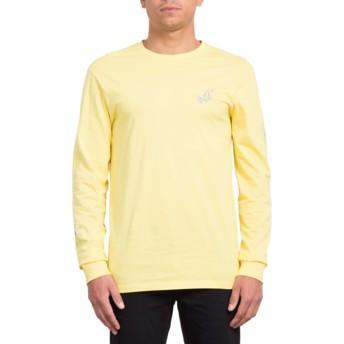 Volcom Yellow Lopez Web Yellow Long Sleeve T-Shirt