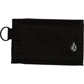 Volcom Black Nylon Stone Black Wallet