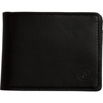 Volcom Black Strangler Black Wallet