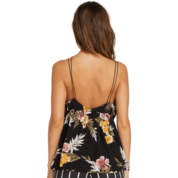 volcom-black-combo-good-to-be-you-black-floral-tank-blouse