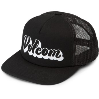 Volcom Black Salt & Sun Black Trucker Hat