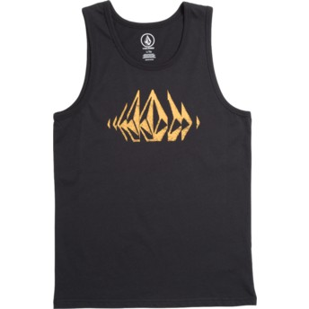 Volcom Youth Black Stone Sounds Black Tank Top