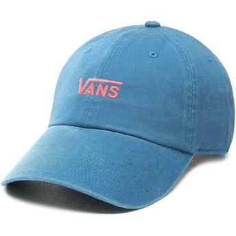 Vans Curved Brim Court Side Blue Adjustable Cap
