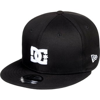 DC Shoes Flat Brim Empire Fielder Black Snapback Cap