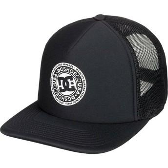 DC Shoes Vested Up Black Trucker Hat