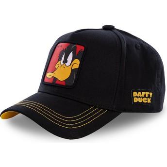 Capslab Curved Brim Daffy Duck DAF3 Looney Tunes Black Snapback Cap
