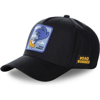 Capslab Curved Brim Road Runner ROA3 Looney Tunes Black Snapback Cap