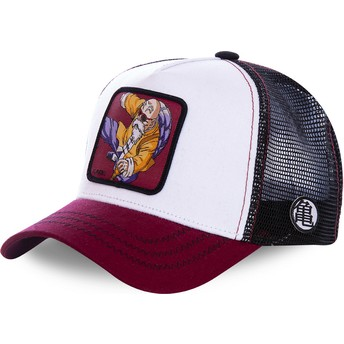 Capslab Master Roshi KAM7 Dragon Ball White, Black and Red Trucker Hat
