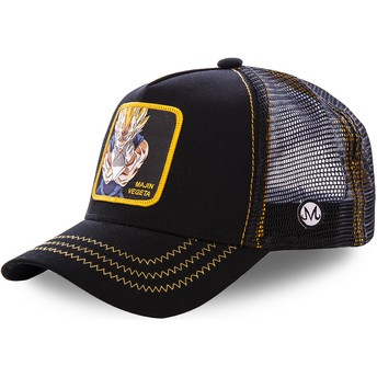 Capslab Majin Vegeta MV2 Dragon Ball Black Trucker Hat