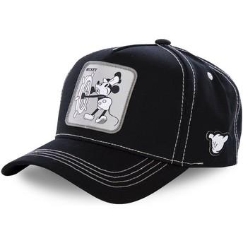 Capslab Curved Brim Mickey Mouse Vintage VIN1 Disney Black Snapback Cap