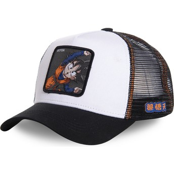 Capslab Goten Fusion GTN3 Dragon Ball White Trucker Hat