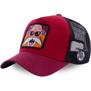 Capslab Master Roshi KAM5 Dragon Ball Red Trucker Hat