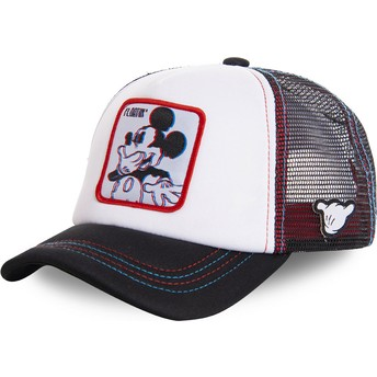 Capslab Mickey Mouse Floatin FLO2M Disney White Trucker Hat