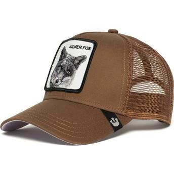 Goorin Bros. Silver Fox Brown Trucker Hat