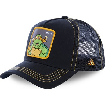 Capslab Michelangelo MIK Teenage Mutant Ninja Turtles Black Trucker Hat