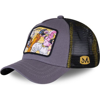 Capslab Gohan Vs Majin Buu WHO2 Dragon Ball Grey Trucker Hat
