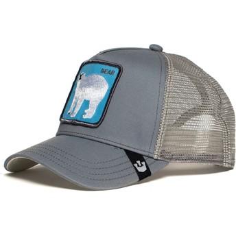 Goorin Bros. Polar Bear Bearrr Grey Trucker Hat