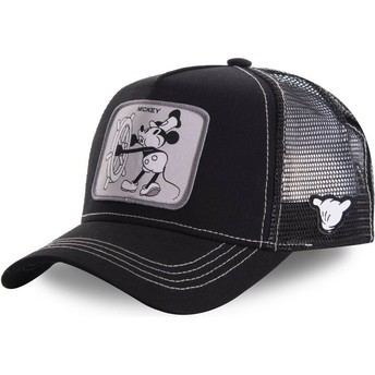 Capslab Mickey Mouse Vintage VIN2 Disney Black Trucker Hat