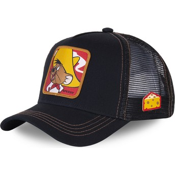 Capslab Speedy Gonzales SPE2 Looney Tunes Black Trucker Hat