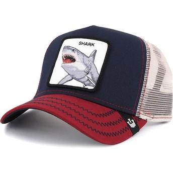 Goorin Bros. Big Shark Navy Blue Trucker Hat