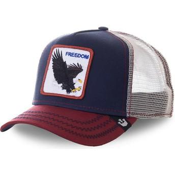 Goorin Bros. Eagle Let It Ring Navy Blue Trucker Hat