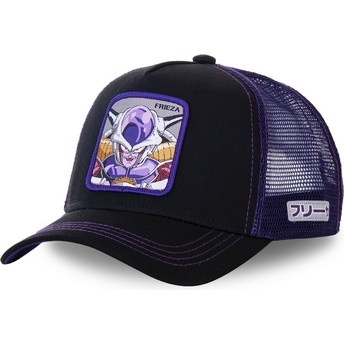 Capslab Frieza FRI1 Dragon Ball Black and Purple Trucker Hat