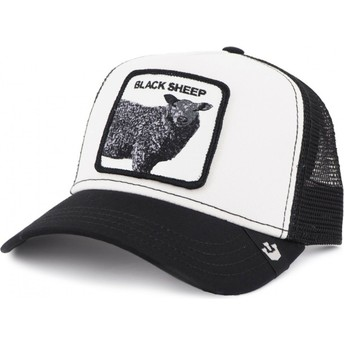 Goorin Bros. Sheep Revolter White and Black Trucker Hat