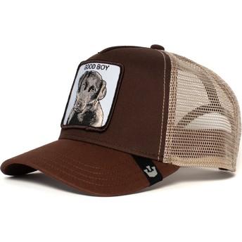 Goorin Bros. Dog Sweet Chocolate Brown Trucker Hat