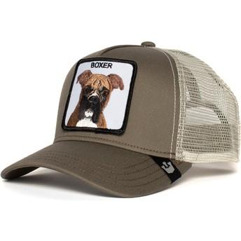 Goorin Bros. Dog Boxer Grey Trucker Hat