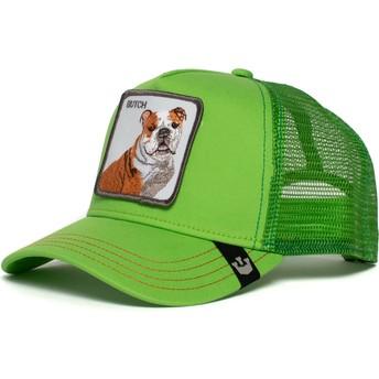 Goorin Bros. Bulldog Big Butch Green Trucker Hat
