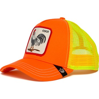 Goorin Bros. Rooster Electric Tamale Orange and Yellow Trucker Hat