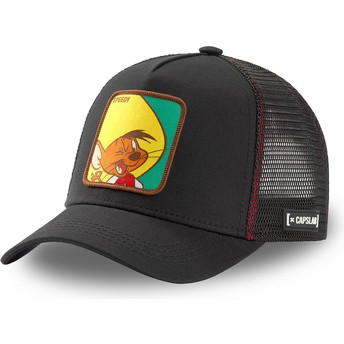 Capslab Speedy Gonzales GON2 Looney Tunes Black Trucker Hat
