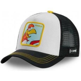 Capslab Foghorn Leghorn CHA Looney Tunes Black Trucker Hat