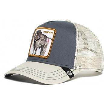 Goorin Bros. Baboon Buthead Grey and White Trucker Hat