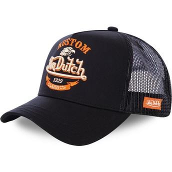 Von Dutch EAG BLK Black Trucker Hat