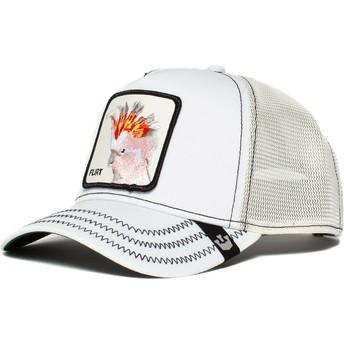 Goorin Bros. Cockatoo Big Flirt White and Grey Trucker Hat