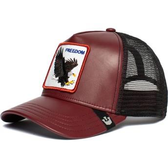 Goorin Bros. Eagle Big Bird Red and Black Trucker Hat